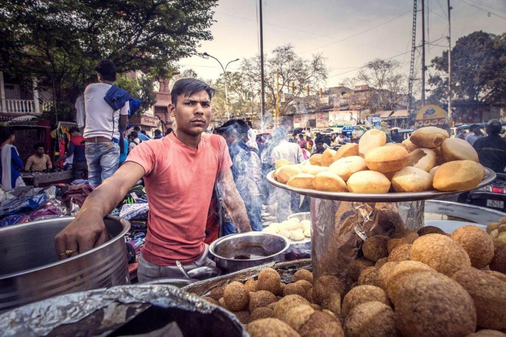 אוכל רחוב בהודו