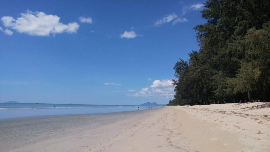 חוף באזור דאווי